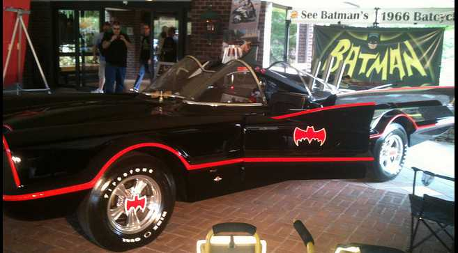 Old School Batmobile