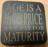 Age Maturity