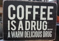 Funny coffee saying