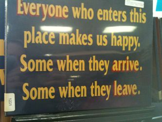 Happy Arrive Leave