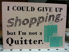 Shopping Quitter