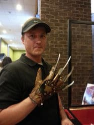 Freddy Krueger Glove  Nightmares Unlimited Monster Mania Con