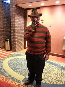 Freddy Krueger Monster Mania Con