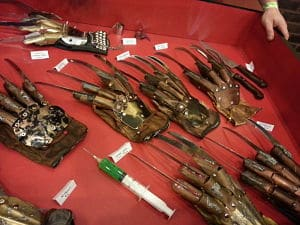 Real Freddy Krueger Gloves Nightmares Unlimited Monster Mania Con