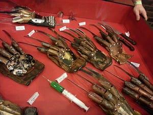 Real Freddy Krueger Gloves Nightmares Unlimited Monster Mania Con