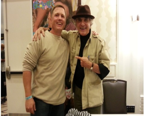 Me with Actor Terry Kiser aka Bernie Lomax